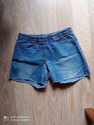 Шорты джинсовые летние. 9-11 лет