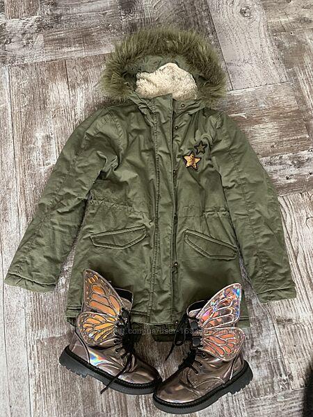 Теплая куртка - парка