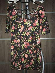 Романтичное мини платье topshop
