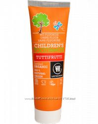 Детская натуральная зубная паста. Дания Сертифицированная органика