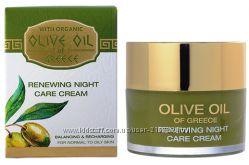 Обновляющий крем ночной для ухода за нормальной и склонной к жирности кожи