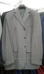 Стильний чоловічий костюм. 52р. Шерсть 80 відсотків
