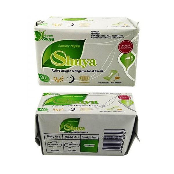 Ежедневные анионные прокладки Shuya  Шуя. Упаковка 30шт.
