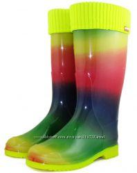 СП Женские резиновые сапоги с махровым носком Много моделей . 330грн.