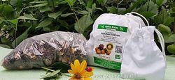 Мыльные орехи сорт  Sapindus Mukorossi 500грам. С мешочком для стирки