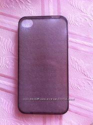 Силиконовый чехол, пластиковые накладки и бампера для IPhone 4