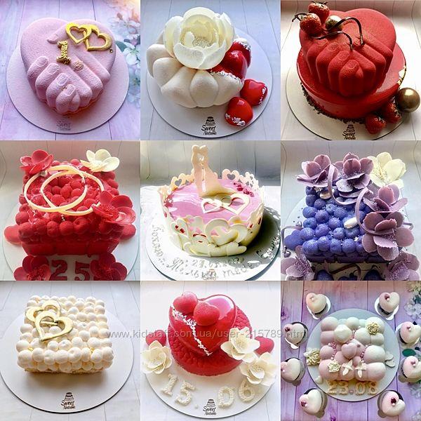 Муссовые торты. Киев.