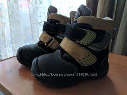 Зимние ботиночки для мальчика B&G, бу, размер 22