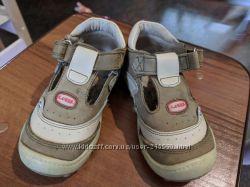 Летние кожаные туфли для мальчика Little Deer, бу, 23 размер