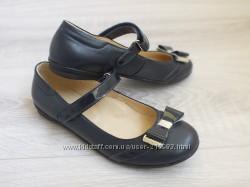 Кожаные туфли с бантиком Lapsi