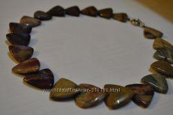 Колье, ожерелье из Агата