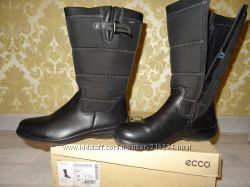 Зимние ботинки Ecco с мембраной Gore Tex размер 38 стелька 25