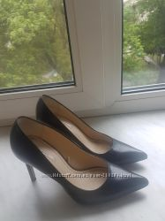 Кожаные туфли Zara из последних коллекций 36