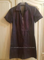Классное джинсовое платье 38р.