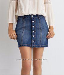 Джинсовая юбка AEO Denim Skirt - 0 размер