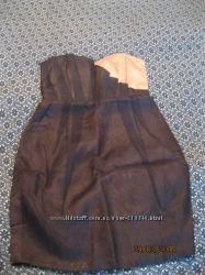 Коктельное платье Asos натуральный шёлк, органза