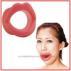 Чудо-тренажер улучшающий форму лица и избавляющий от морщин Резиновые губы