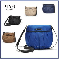Маленькая сумочка из плащевки от МangoMNG Манго в наличии.