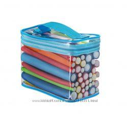 Бигуди-бумеранги из пенорезины, диаметр от 10 до 20 мм, 42 шт в наборе.
