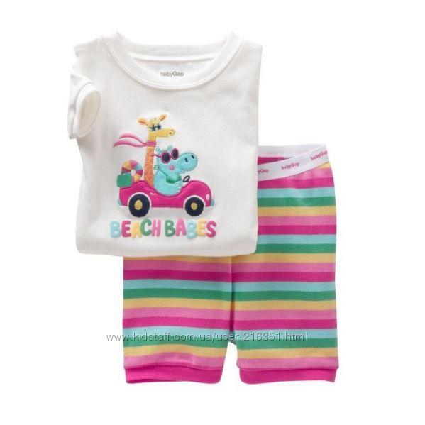 Распродажа Летняя пижама GAP, размер 2Т, на рост 70 - 80.
