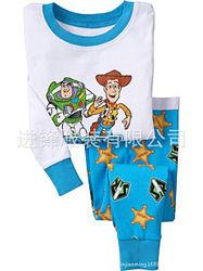 Пижама детская GAP трикотажная с рукавом История игрушек, 2Т на рост 70-80