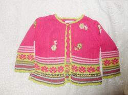 Красивенная кофточка для девочки на теплую весну, фирма НЕМА, р. 74
