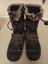Сапоги GEOX размер 36 стелька 23 см сапожки зимние геокс джеокс осень