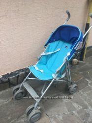 легкая детская прогулочная коляска Chicco