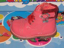 Осенние ботиночки ТМ APAWWA для девочек