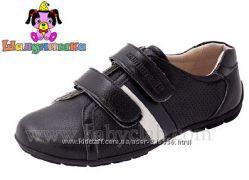Стильные туфли Шалунишка для мальчика в школу