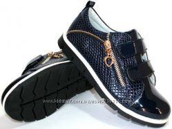 Школьные туфли Clibee 31. 32 синие