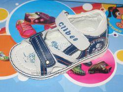 Кожаные сандалики Clibee и CBT. T