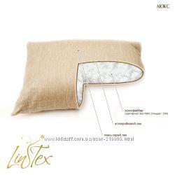 стеганая подушка не перегревает голову