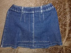 джинсовая юбочка и юбка - шорты