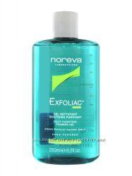 Мягкий очищающийй гель Noreva Exfoliac 250 мл