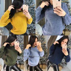 Очень тёплый свитер 42-44, 46-48-50