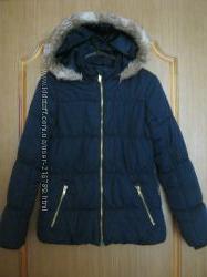 куртка зимняя HM на девочку 12-13 лет