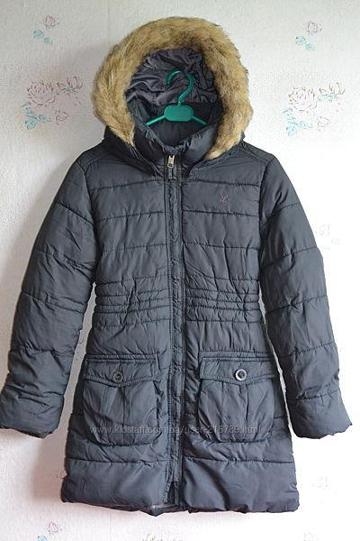 Пальто зимнее H&M на девочку 10-11 лет