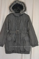 Модное пальто деми-сезон  на флисе GEORGE на 8-9 лет