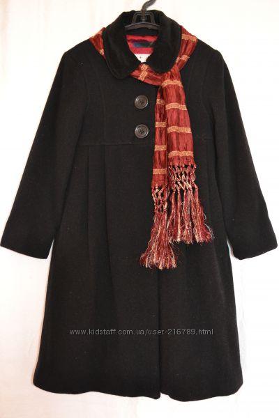 Классическое  пальто   GAP на 8-9 лет