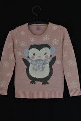 Нарядный свитерок  на 6-7 лет