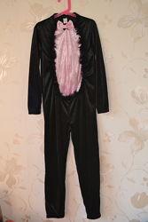 Карнавальный  костюм  Черная кошка на 9-10 лет