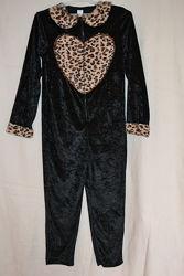 Карнавальный  костюм Леопард на девочку 7-8 лет