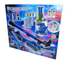 Детский набор 2 в 1 Телескоп Микроскоп CQ 031