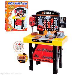 Детский игровой верстак с инструментами  М 0447