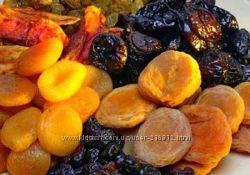 Сухофрукты, орехи, семечки, агар-агар