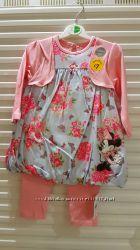 Платье с болеро  и леггисы George 9-12мес