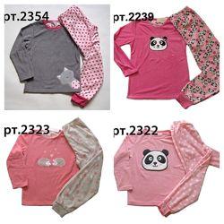 Теплые флисовые пижамки для девочек 128 - 166р, Англия