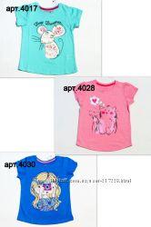 Суперские футболочки и регланы для девочек от 2х до 8 лет, Англия Primark.
