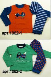 Пижамы для мальчиков хб от 12мес до 13лет, Англия, Primark